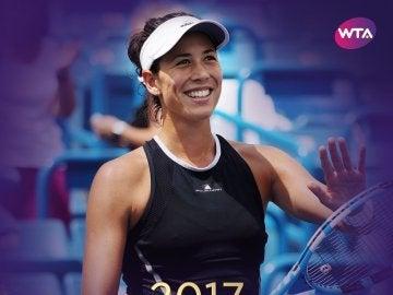 Muguruza, mejor jugadora 2017
