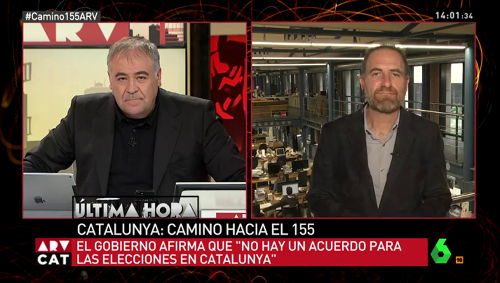 Enric Hernàndez, director de 'El Periódico de Catalunya'