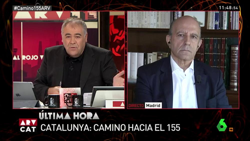 Periodista y analista de laSexta, José Antonio Zarzalejos