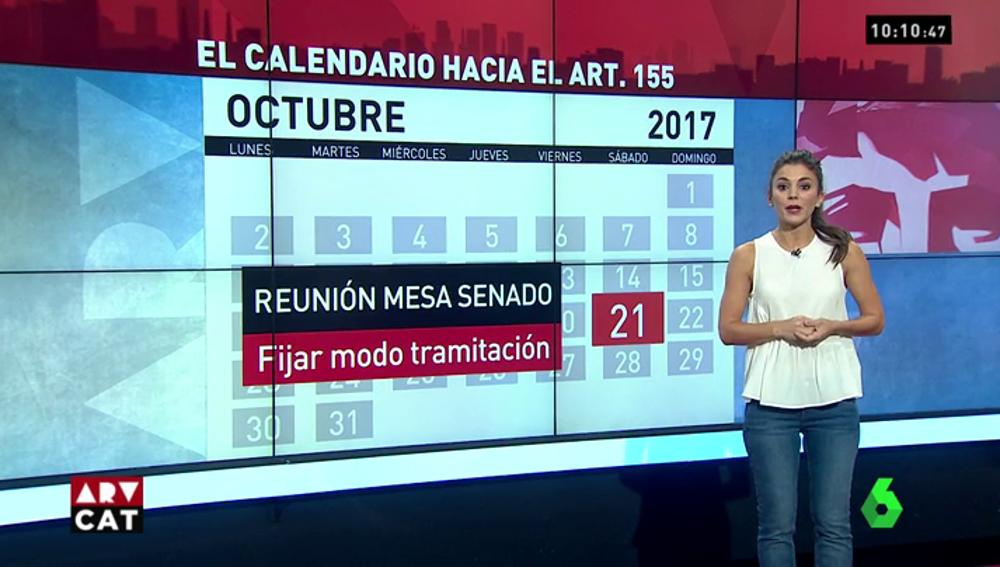 Consejo de Ministros, Mesa del Senado, Pleno… el calendario que llevará a la aplicación del 155 en Cataluña