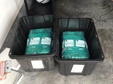 Pedido con 29 kilos de marihuana en Amazon