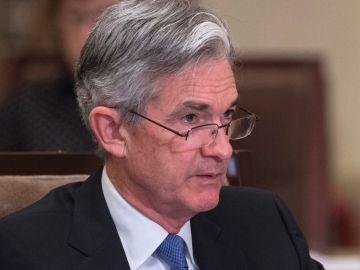 Jerome Powell, presidente de la Reserva Federal
