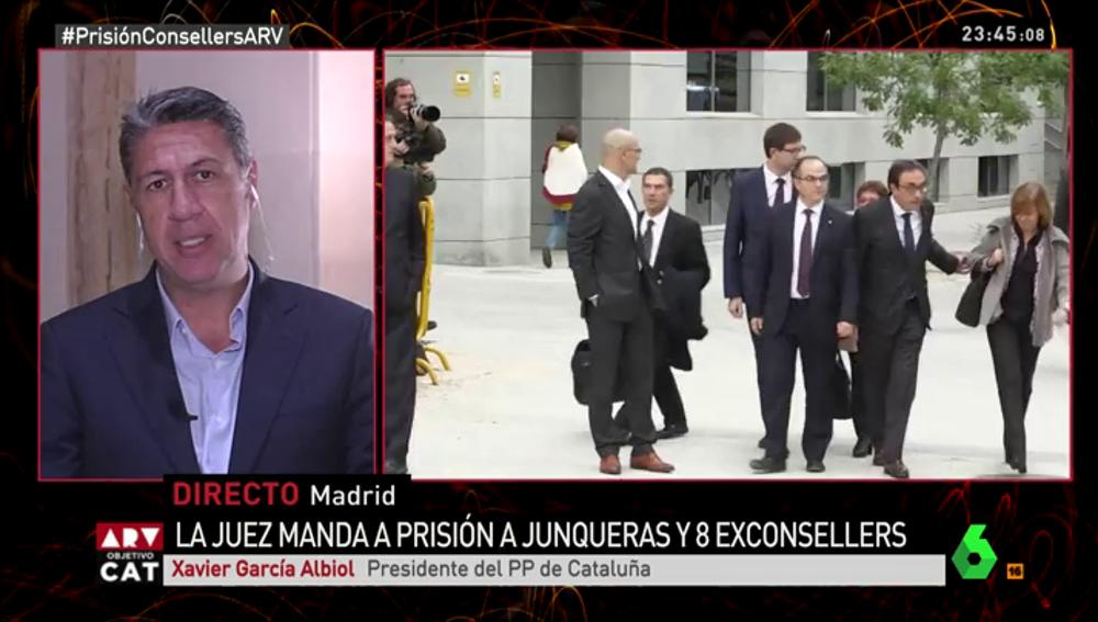 Xavier García Albiol, en Al Rojo Vivo