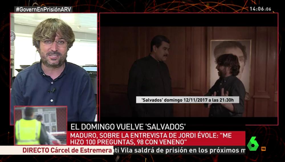 Jordi Évole en Al Rojo Vivo