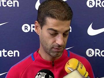 Gerard López, entrenador del Barcelona B