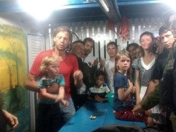 Familia estadounidense rescatada en la Amazonia