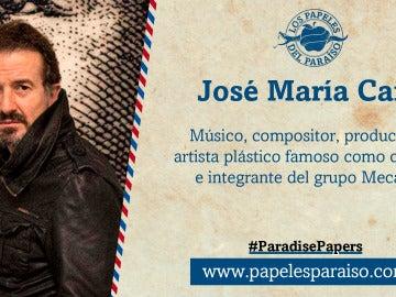 José María Cano, artista plástico y excomponente de Mecano