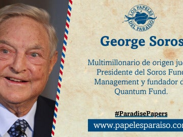 George Soros, presidente del Soros Fund Management