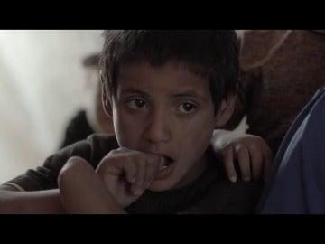 Campo de refugiados en Mosul