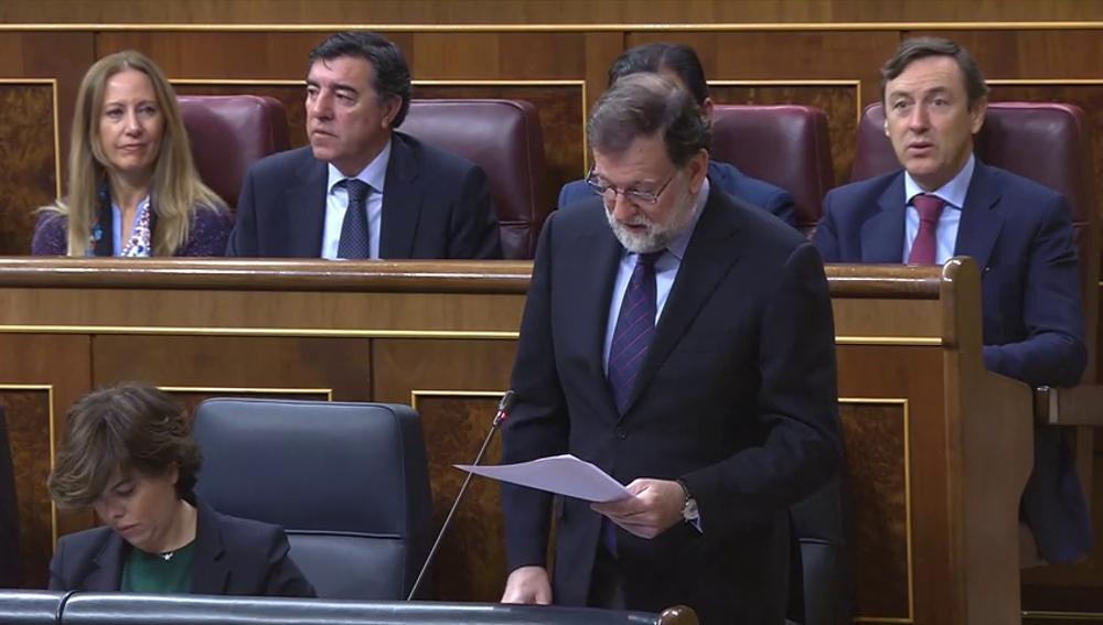"""Rajoy espera una """"participación masiva"""" el 21-D y urge a recuperar la normalidad para mitigar los daños económicos en Cataluña"""