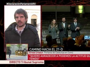 Ernest Urtasun, portavoz de Catalunya en Comú