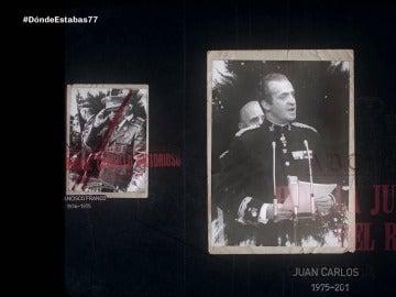 Francisco Franco y el rey Juan Carlos I