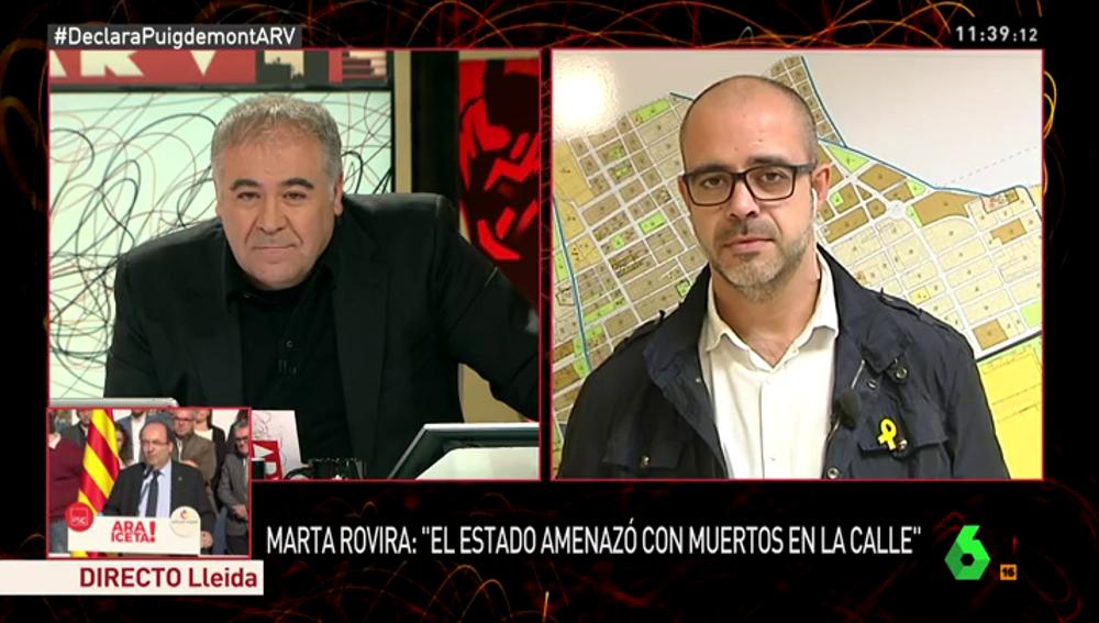 Miquel Buch en Al Rojo Vivo