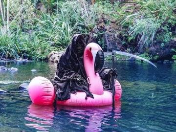 Foto de la cuenta de Instagram 'The Swim Reaper'
