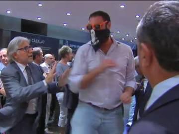 Ataque ultra a la librería Blanquerna en Madrid