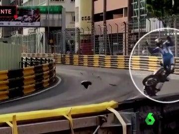 El terrible accidente que le costó la vida a Daniel Hegarty en Macao