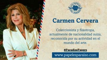 Carmen Cervera, coleccionista y filántropa