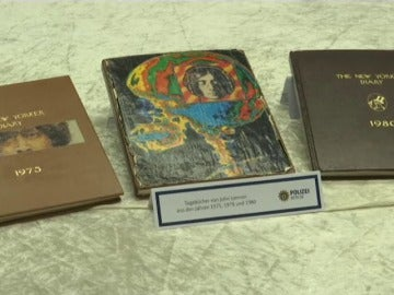 Aparecen los diarios perdidos de John Lennon en una casa de subastas en Berlín