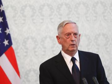 James Mattis, secretario de Defensa de Estados Unidos