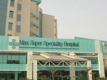 El hospital Max de Nueva Delhi donde han ocurrido los hechos