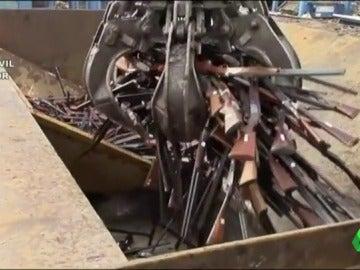 Destrucción de armas en Baleares