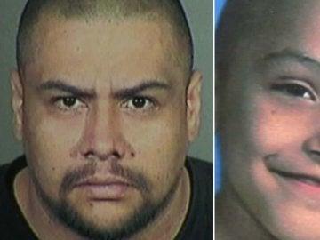 El culpable de torturar hasta la muerte a un niño y la víctima.