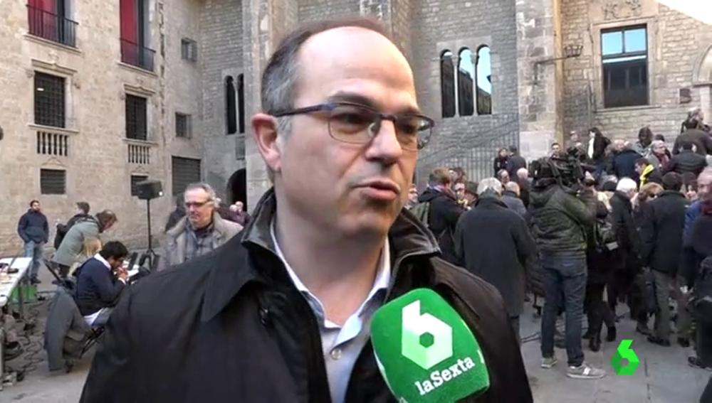 Jordi Turull habla con laSexta