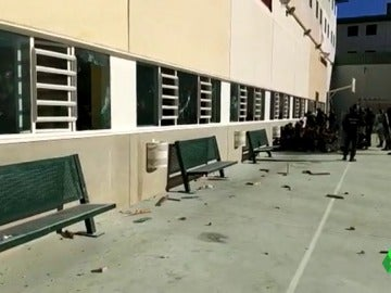 Los funcionarios de la cárcel de Archidona, Málaga, piden más recursos para trabajar.