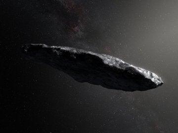 Aspecto del objeto interestelar 'Oumuamua