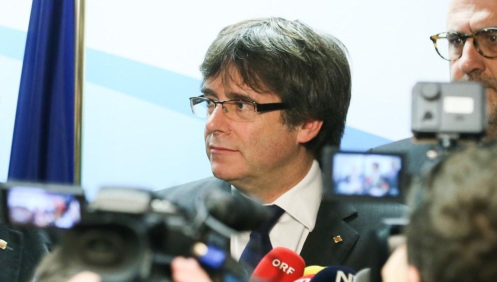 Carles Puigdemont en una imagen de archivo