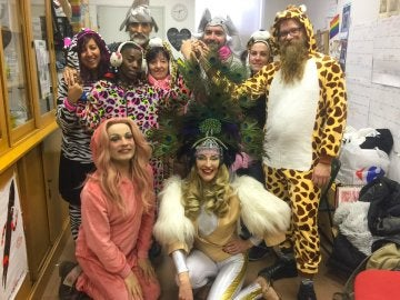 La 'carroza por la diversidad' de los Reyes Magos de Vallecas