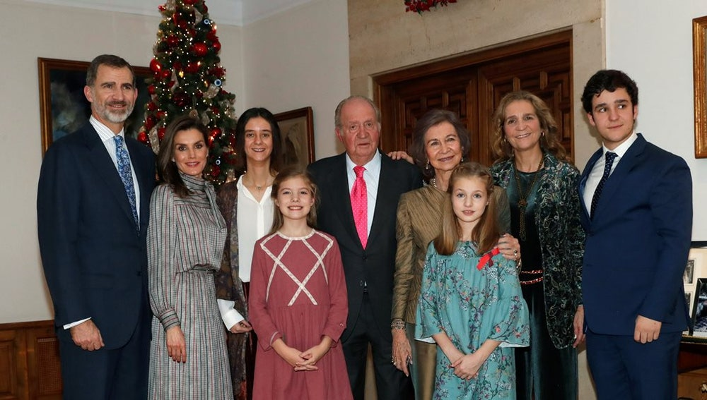 Foto de cumpleaños del rey Juan Carlos