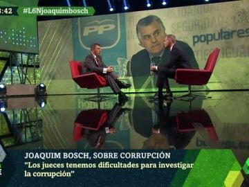 El portavoz territorial de Juezas y Jueces para la Democracia, Joaquim Bosch