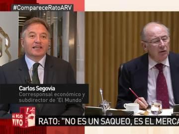 Carlos Segovia, en Al Rojo Vivo