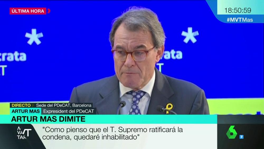 Artur Mas en rueda de prensa