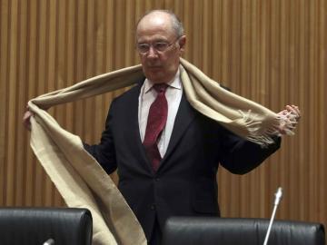 Rodrigo Rato se prepara para su comparecencia en el Congreso