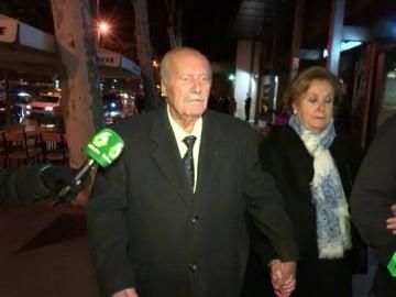 Antonio Tejero acude al funeral de Carmen Franco