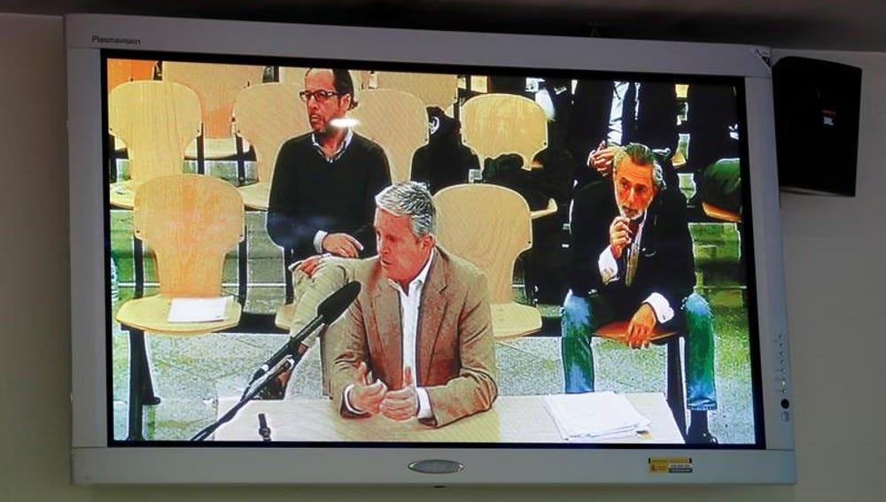 Pablo Crespo declara durante el juicio por la 'trama Gürtel'