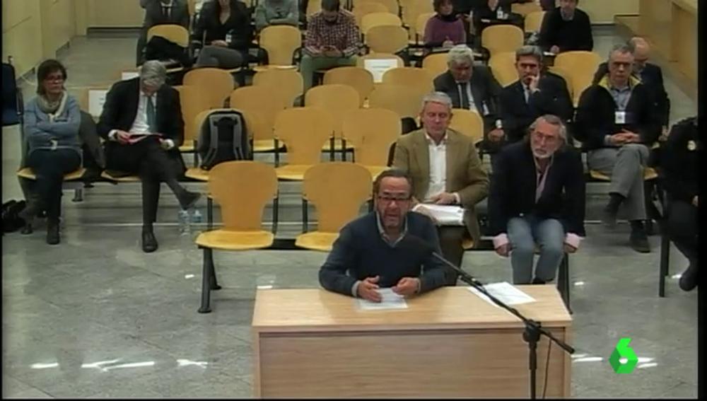 Álvaro Pérez, 'El Bigotes', declara en la Audiencia Nacional