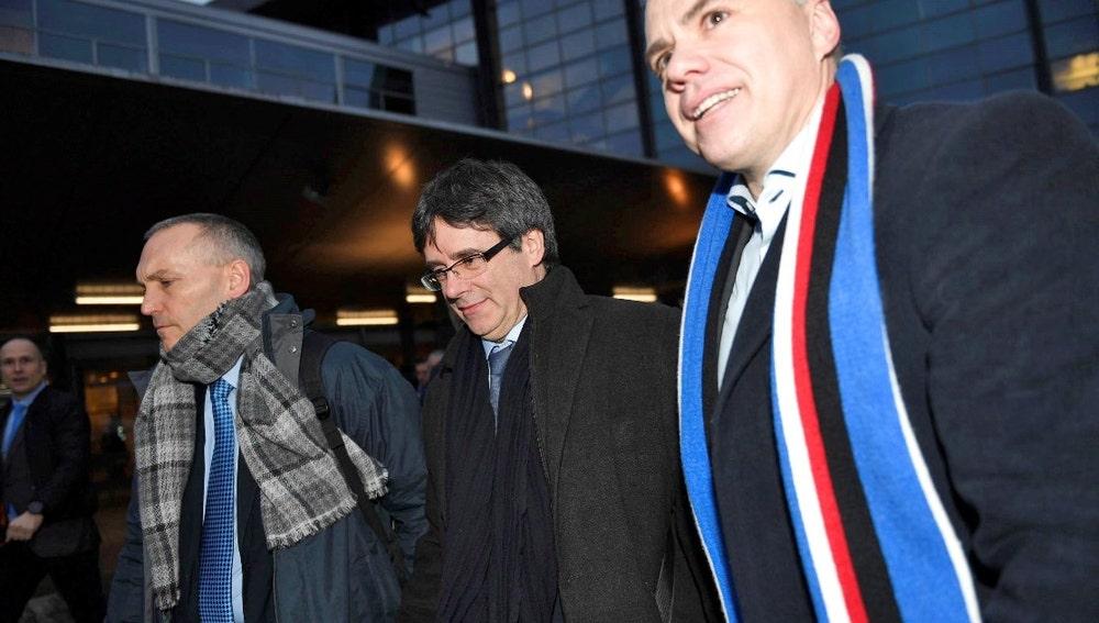 Carles Puigdemont en Dinamarca