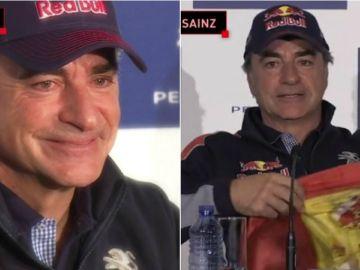Carlos Sainz, dos veces ganador del Dakar