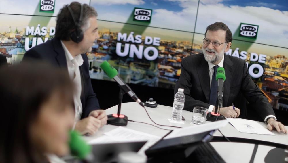 Mariano Rajoy en Onda Cero