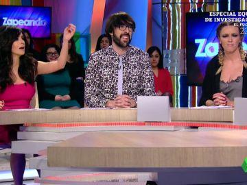 Paula Prendes, Quique Peinado y Anna Simón