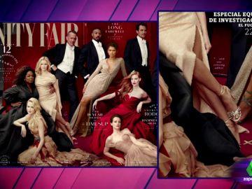 La polémica portada de la revista 'Vanity Fair'