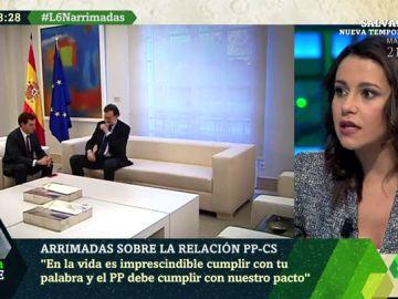 Inés Arrimadas en laSexta Noche