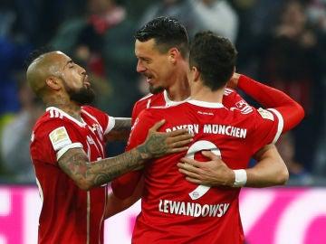 El Bayern remontó al Hoffenheim