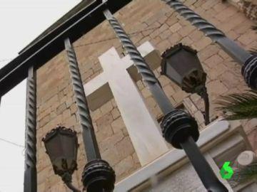 La cruz de los caídos de Callosa, en Alicante