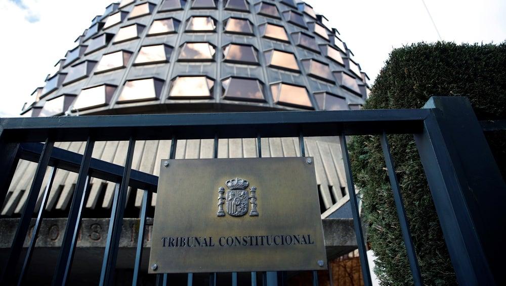 Imagen de la sede del Tribunal Constitucional (TC)