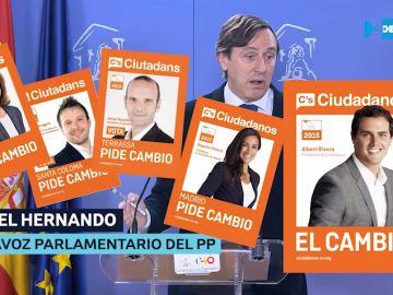 Carteles campaña electoral 24-M de C's.