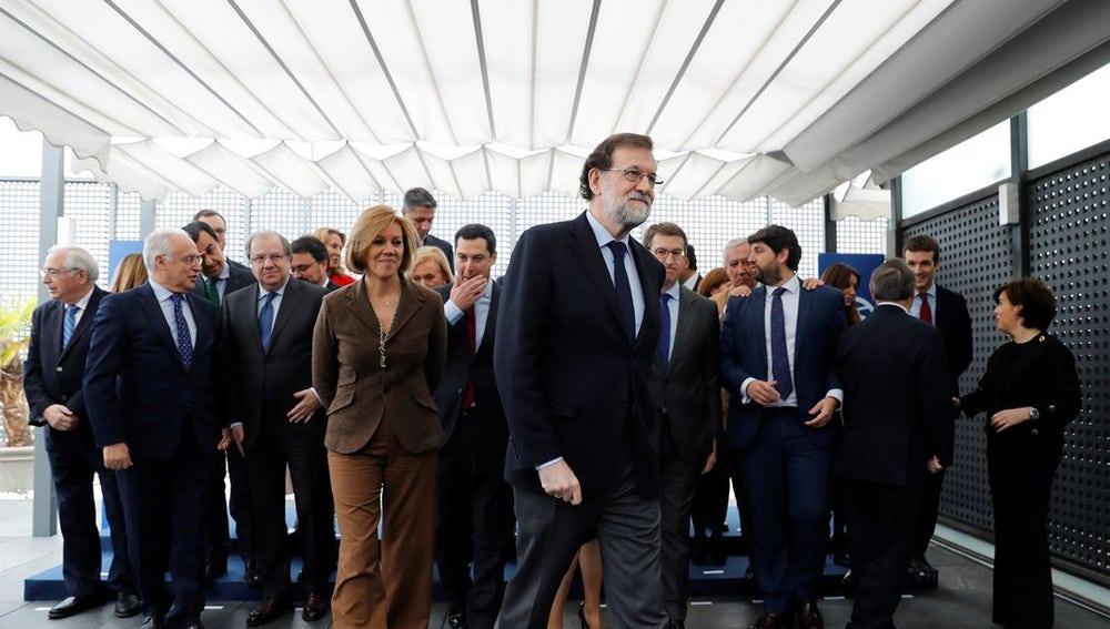 Los líderes regionales del Partido Popular